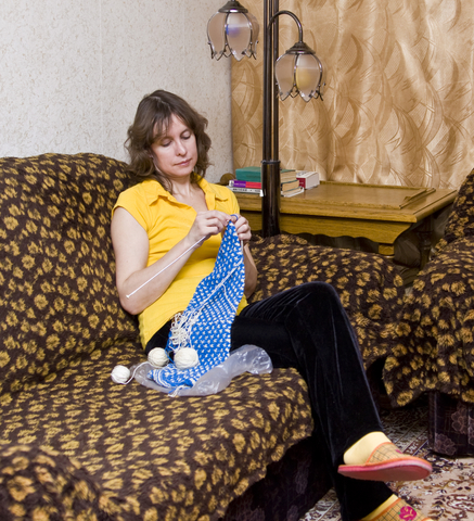 Steps of Crocheting