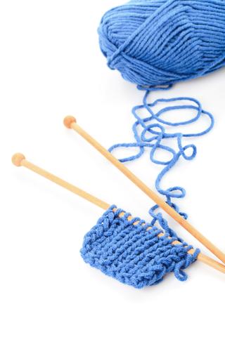 yarn hanging off