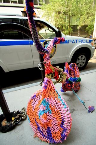 great yarn bomb