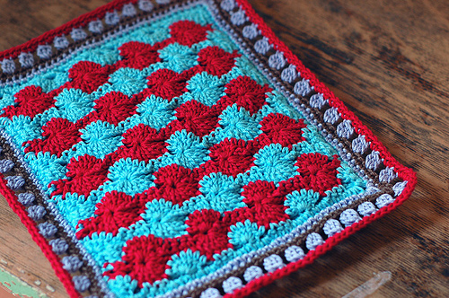 Catherine's Wheel Crochet Stitch